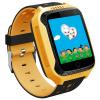 Детские умные часы с GPS трекером и камерой Smart Baby Watch T7 yellow