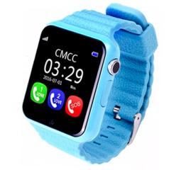 Детские смарт часы Baby Smart Watch V7K-Blue Gps