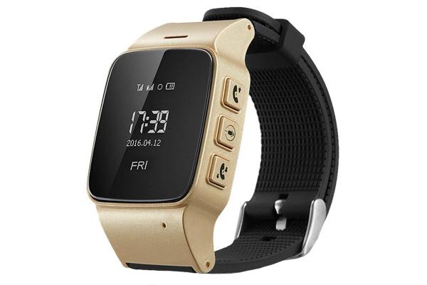 Детские смарт часы Smart Baby Watch Smartix D99 gold