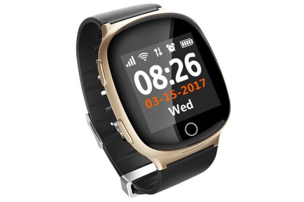 Смарт часы с GPS трекером Smart watch S200 gold