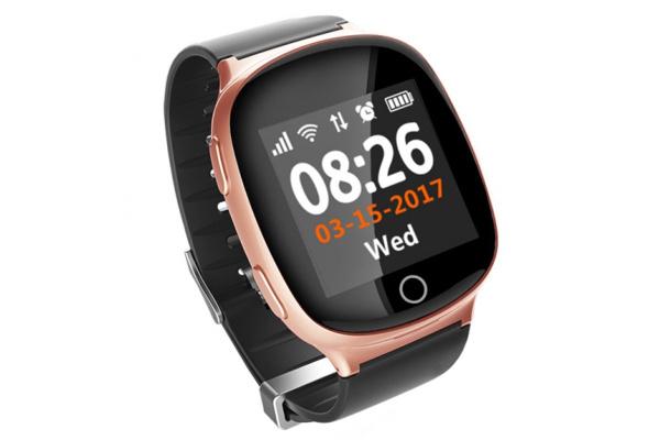 Детские смарт часы Smart watch D100(EW100S) pink