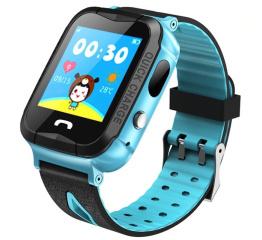 Купить Детские смарт часы с GPS трекером и камерой Smart Baby Watch V6G blue