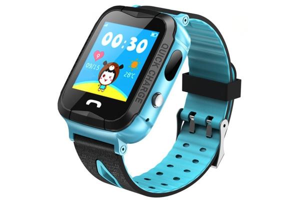 Детские смарт часы Smartix V6G AQUA (IQ600) blue