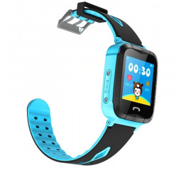 Купить Детские смарт часы с GPS трекером и камерой Smart Baby Watch V6G blue в Украине