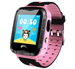 Купить Дитячий смарт-годинник з GPS трекером и камерой Smart Baby Watch V6G pink