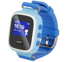 Детские смарт часы Smart Baby Q60 GPS (Blue)