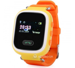 Купить Дитячий смарт-годинник з GPS трекером SmartWatch Q60 Orange