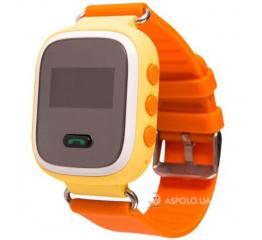 Купить Дитячий смарт-годинник з GPS трекером SmartWatch Q60 Orange в Украине