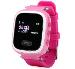 Купить Детские смарт часы с GPS трекером SmartWatch Q60 Pink