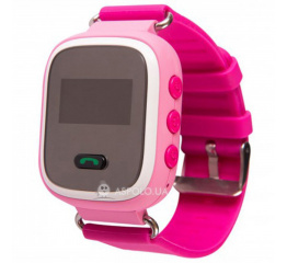 Купить Детские смарт часы с GPS трекером SmartWatch Q60 Pink в Украине