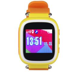 Купить Дитячий смарт-годинник з GPS трекером SmartWatch Q80 Orange в Украине