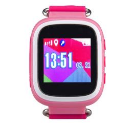 Купить Дитячий смарт-годинник з GPS трекером SmartWatch Q80 Pink в Украине