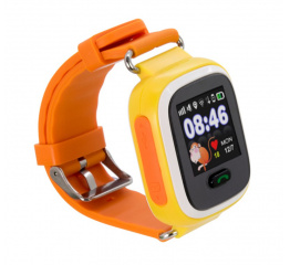 Купить Дитячий смарт-годинник з GPS трекером Smart Watch Q90 orange в Украине