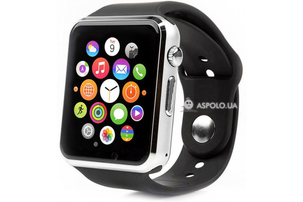 Смарт часы SmartWatch A1 silver/black