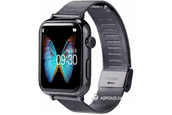 Смарт часы SmartWatch A9 Metal black