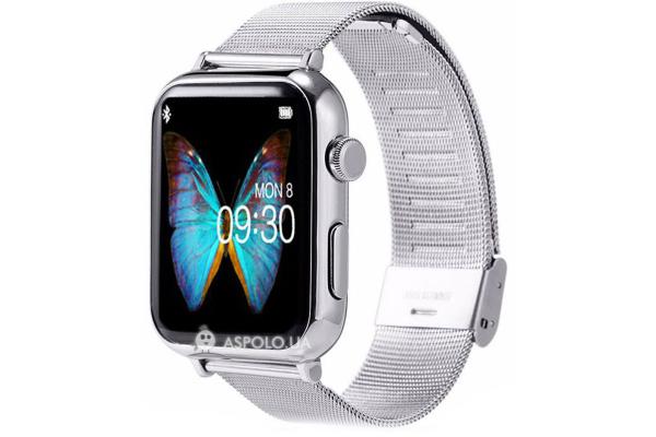 Смарт часы SmartWatch A9 Metal silver