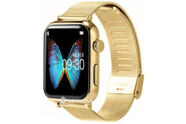 Смарт часы SmartWatch A9 Metal gold