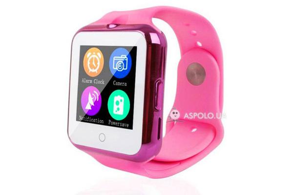 Смарт часы SmartWatch D3 pink