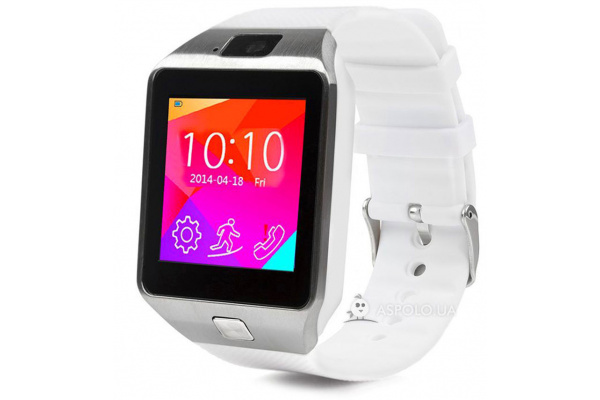 Смарт часы SmartWatch DZ09 white