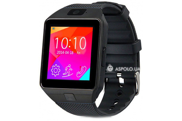 Смарт часы SmartWatch DZ09 black