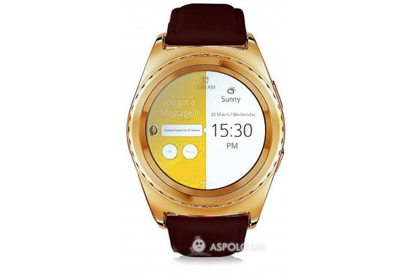 Смарт часы SmartWatch G4 gold