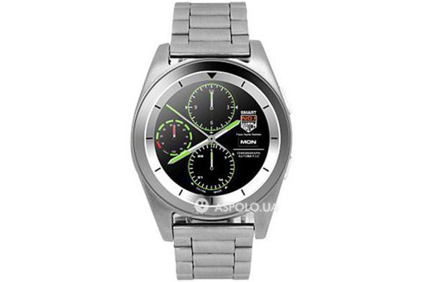 Смарт часы SmartWatch G6 Business silver