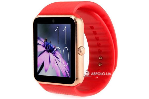 Смарт часы SmartWatch GT08 red