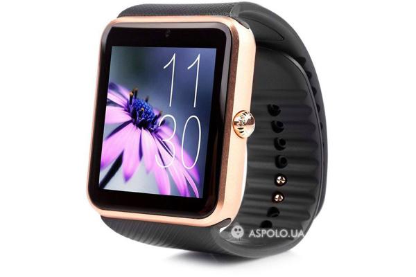 Смарт часы SmartWatch GT08 gold