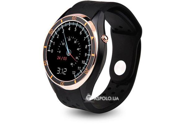 Смарт часы SmartWatch i3 gold
