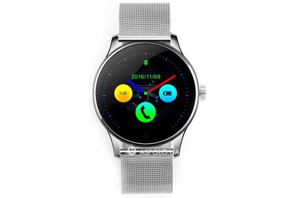 Смарт часы SmartWatch K88H Metal silver