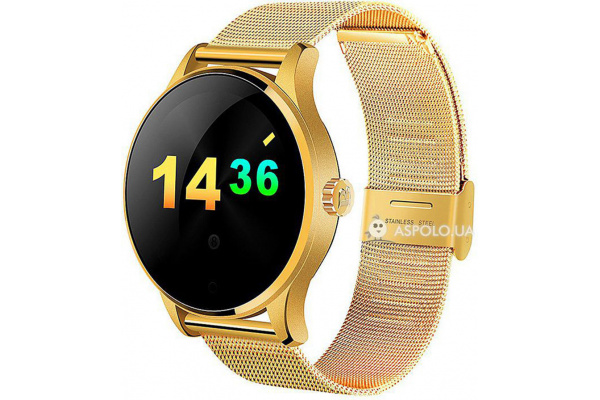 Смарт часы SmartWatch K88H Metal gold