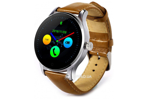 Смарт часы SmartWatch K88H silver