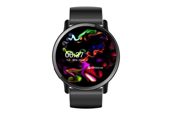 Смарт часы Lemfo LEM X black
