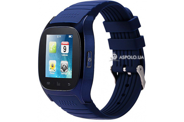 Смарт часы SmartWatch M26 blue