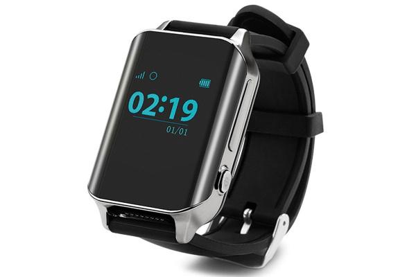 Смарт часы с GPS трекером Smart watch A16 silver