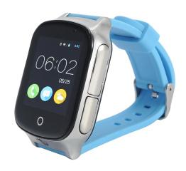 Купить Смарт часы с GPS трекером и камерой Smart Watch A19 blue
