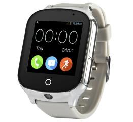 Купить Смарт часы с GPS трекером и камерой Smart Watch A19 grey в Украине