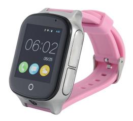 Купить Смарт-годинник с GPS трекером и камерой Smart Watch A19 pink