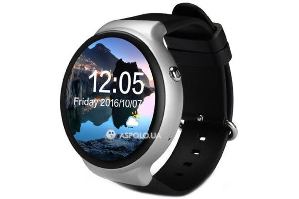 Смарт часы SmartWatch i4 silver