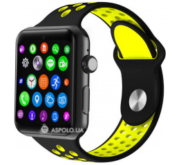 Купить Смарт-годинник Lemfo LF07 Plus Black-Yellow