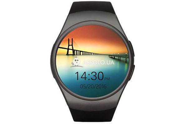 Смарт часы SmartWatch SW15 black