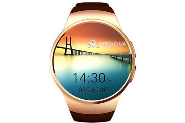 Смарт часы SmartWatch SW15 gold