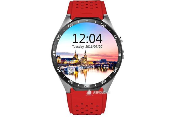 Смарт часы SmartWatch SW25 red