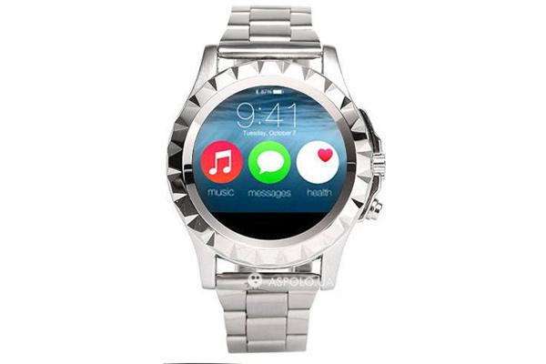 Смарт часы SmartWatch T2 Metal silver