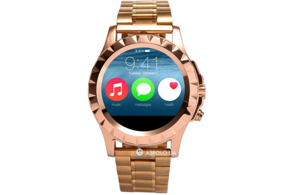 Смарт часы SmartWatch T2 Metal gold