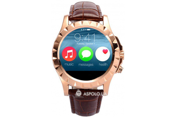 Смарт часы SmartWatch T2 gold