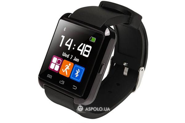 Смарт часы SmartWatch U8 black