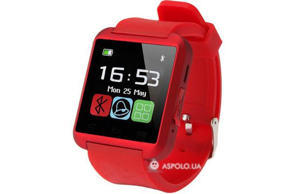 Смарт часы SmartWatch U8 red