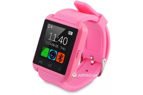 Смарт часы SmartWatch U8 pink