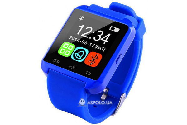 Смарт часы SmartWatch U8 blue